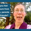 Do you feel pressure from peers, parents and friends?