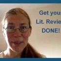 Get your Lit. Review DONE!!!