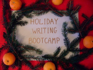 HOLIDAY WRITING BOOTCAMP with Olga Degtyareva, PhD