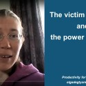 The victim phrases and the power phrases
