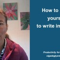 How to allow yourself to write imperfectly